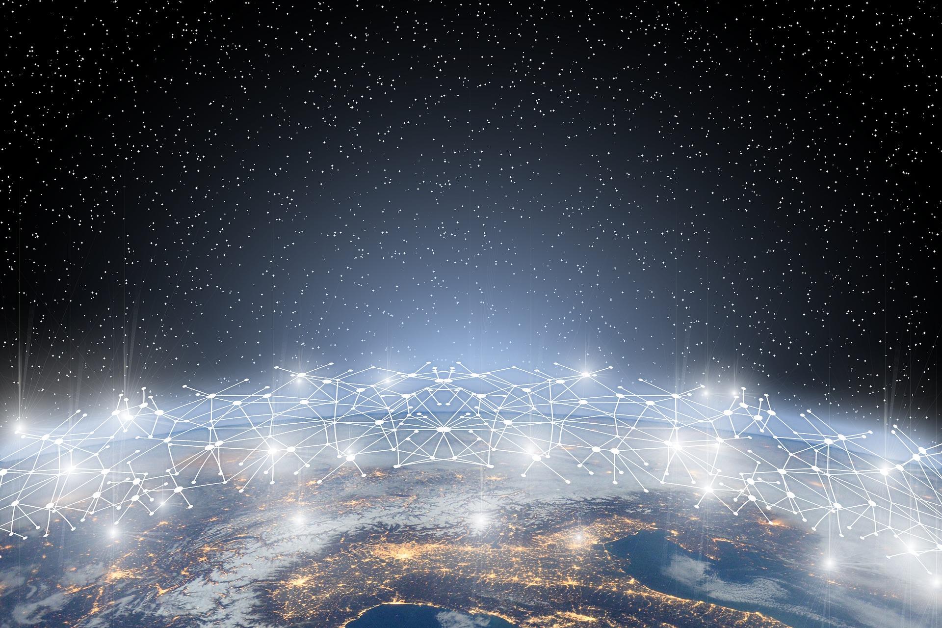 地球とインターネット